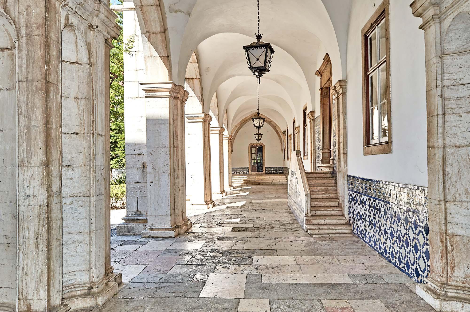 Mosteiro de Odivelas - Claustro